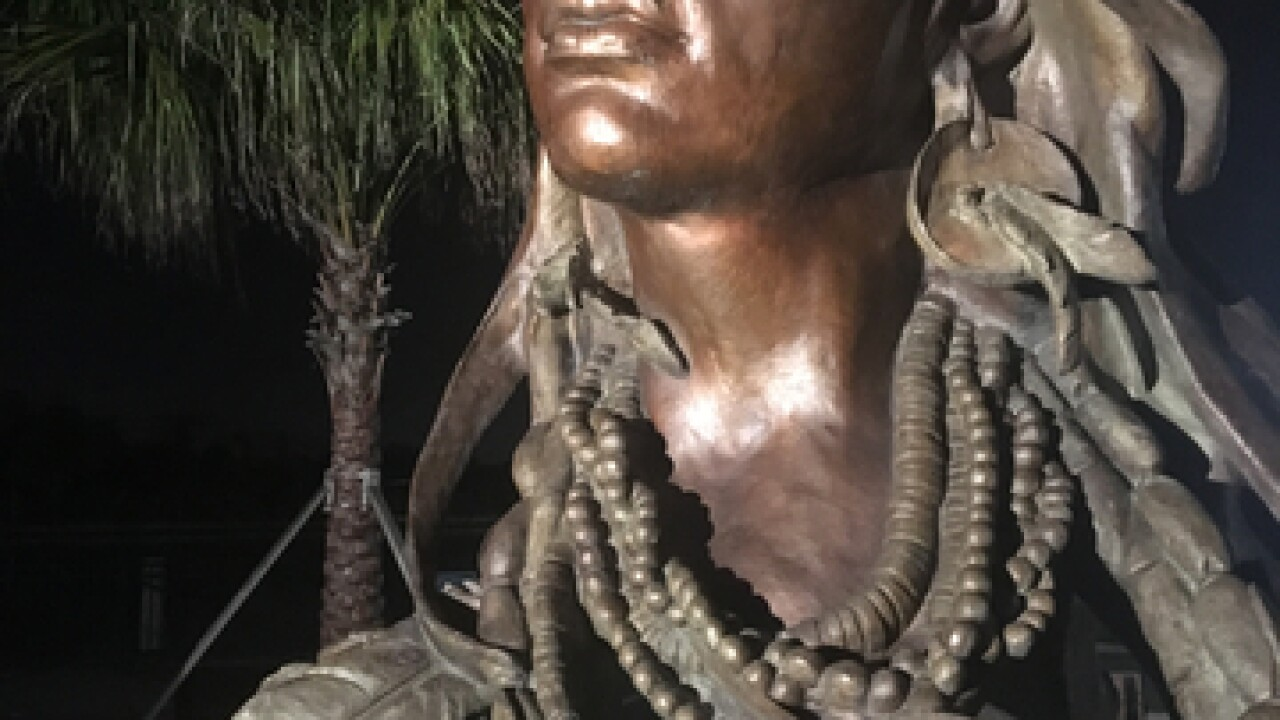 Princess Ulele bust ordered off Tampa Riverwalk