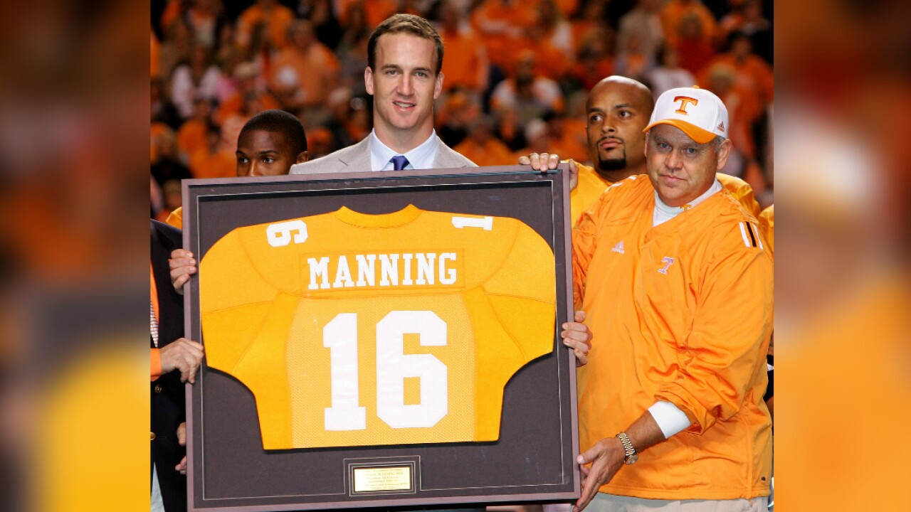 Peyton Manning mentioned in University of Tennessee lawsuit over sexual assaults
