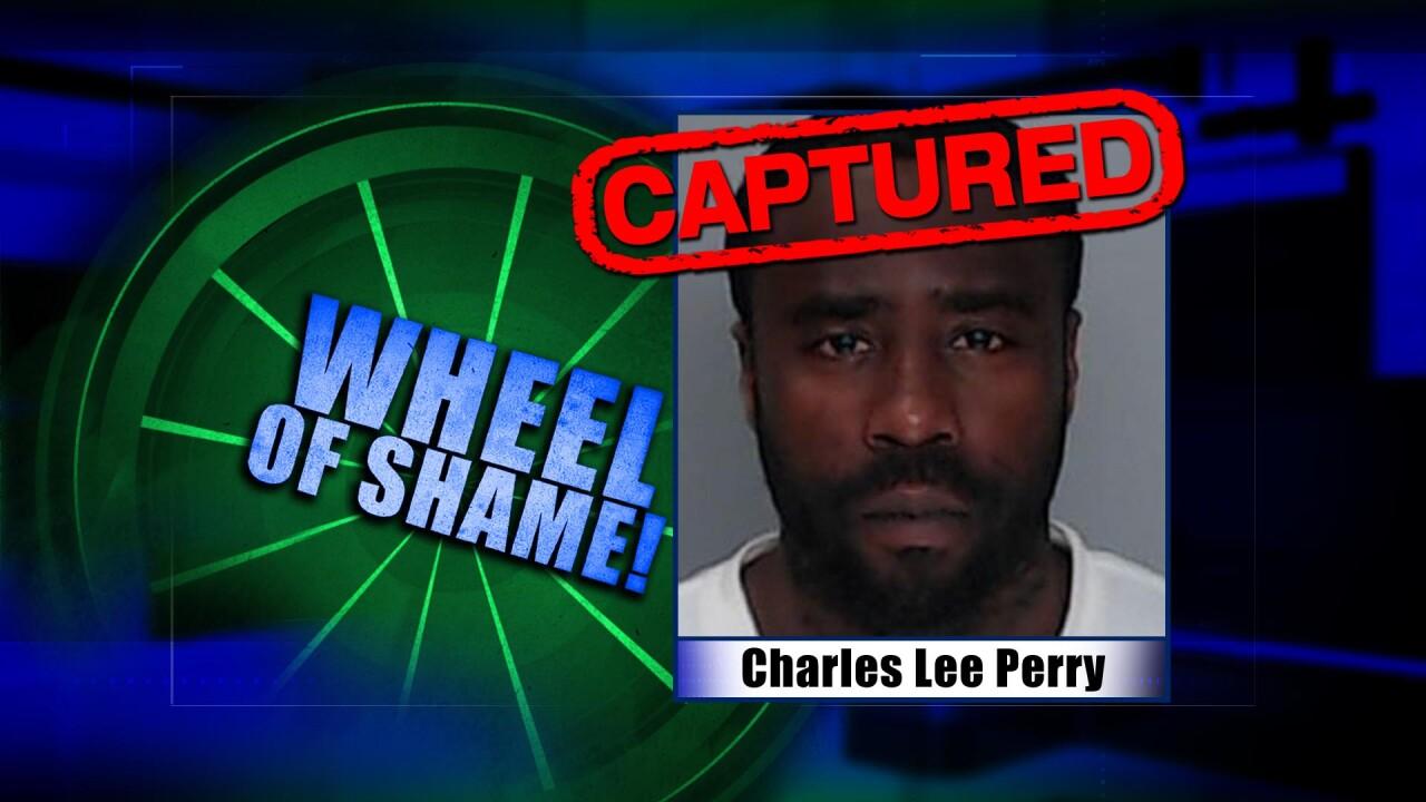 Wheel Of Shame Fugitive Arrested: Charles Lee Perry