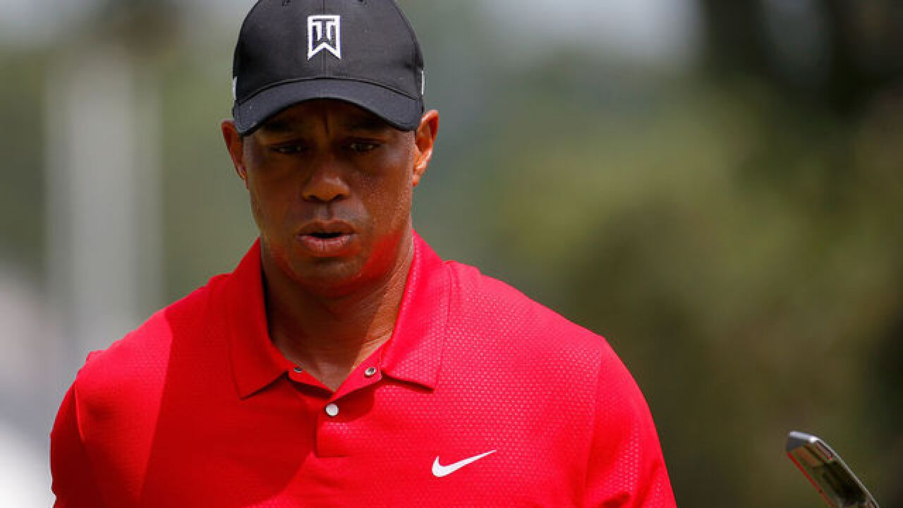 Tiger Woods posts 65 in second round back from injury