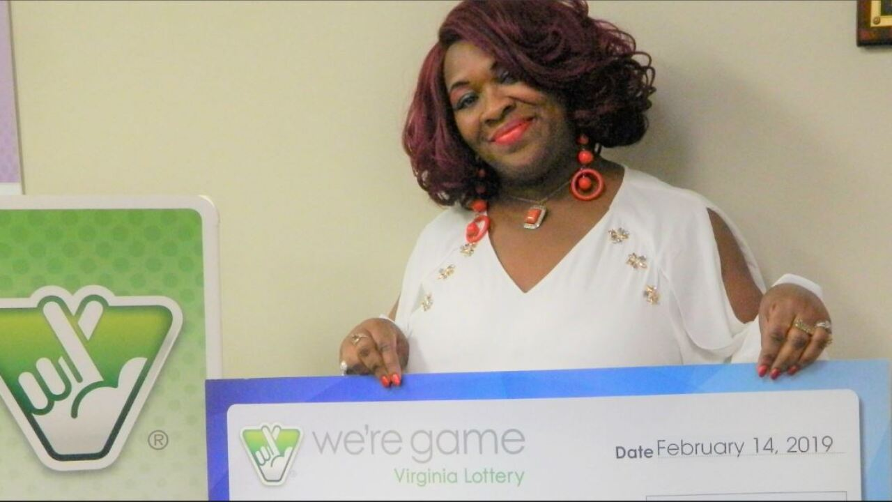 Lady Luck: Richmond woman wins Virginia Lottery 30 times in oneday