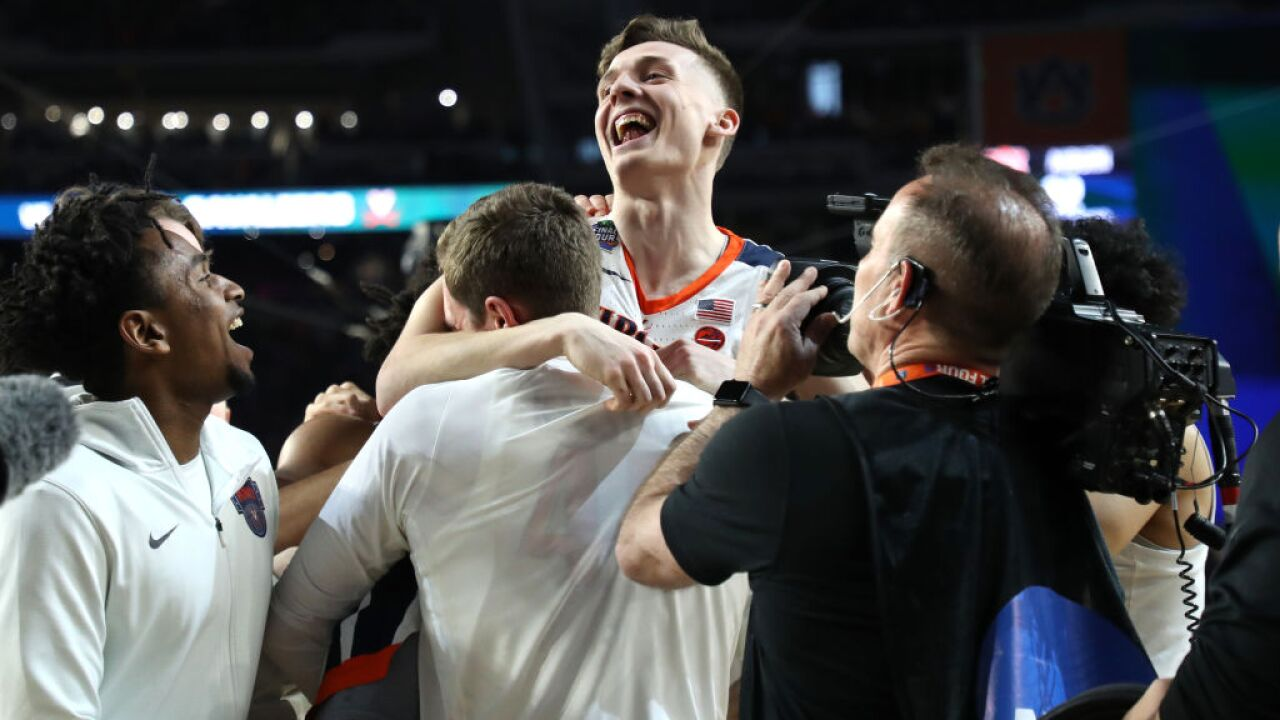 UVA Cavaliers are one win away from their first ever National ChampionshipTitle