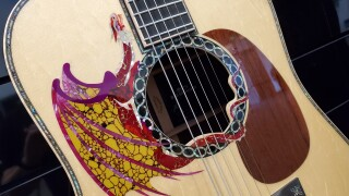 Martin Dragon Guitar NAMM