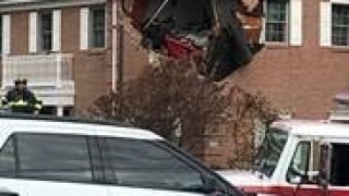 2nd Floor Car Crash