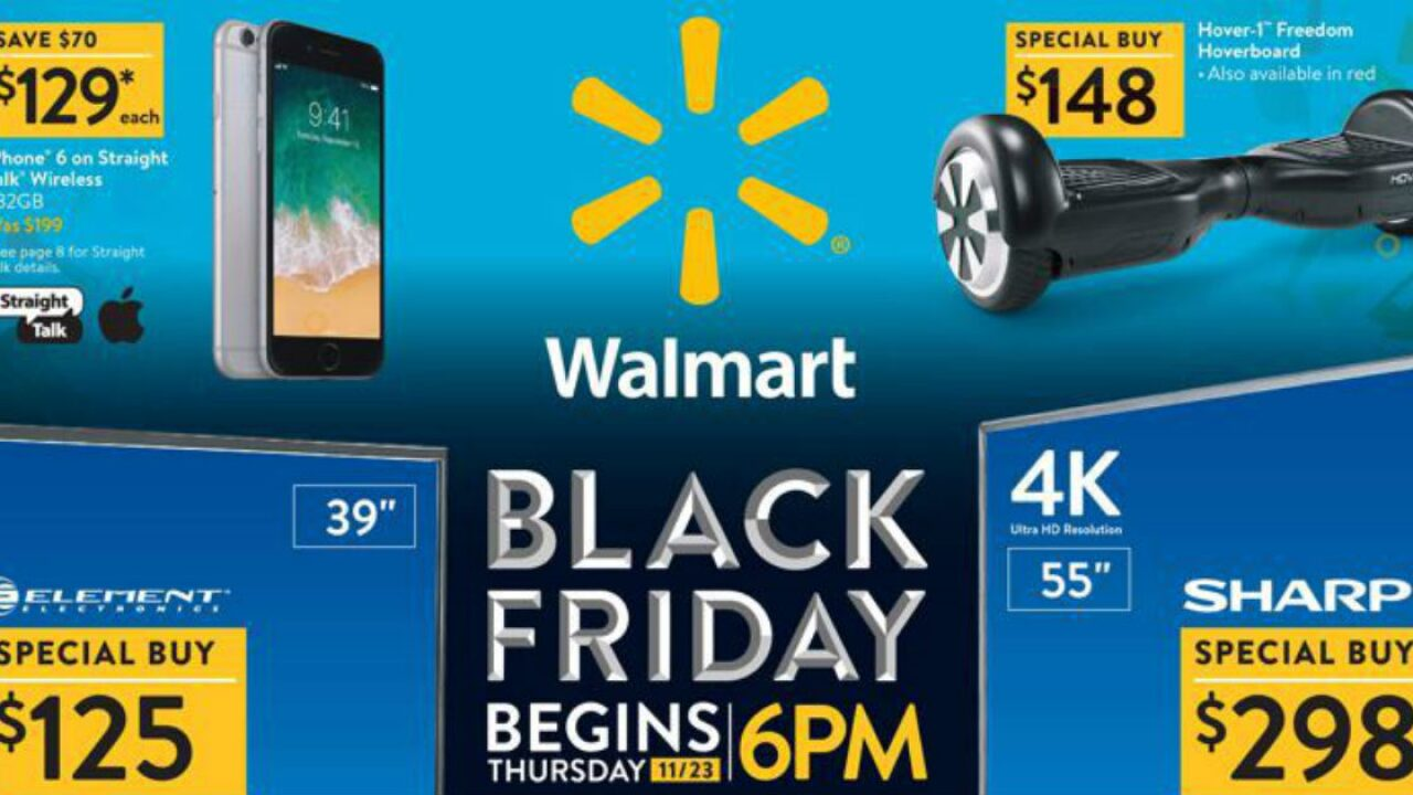 Walmart's Black Friday 2017 ad is out!