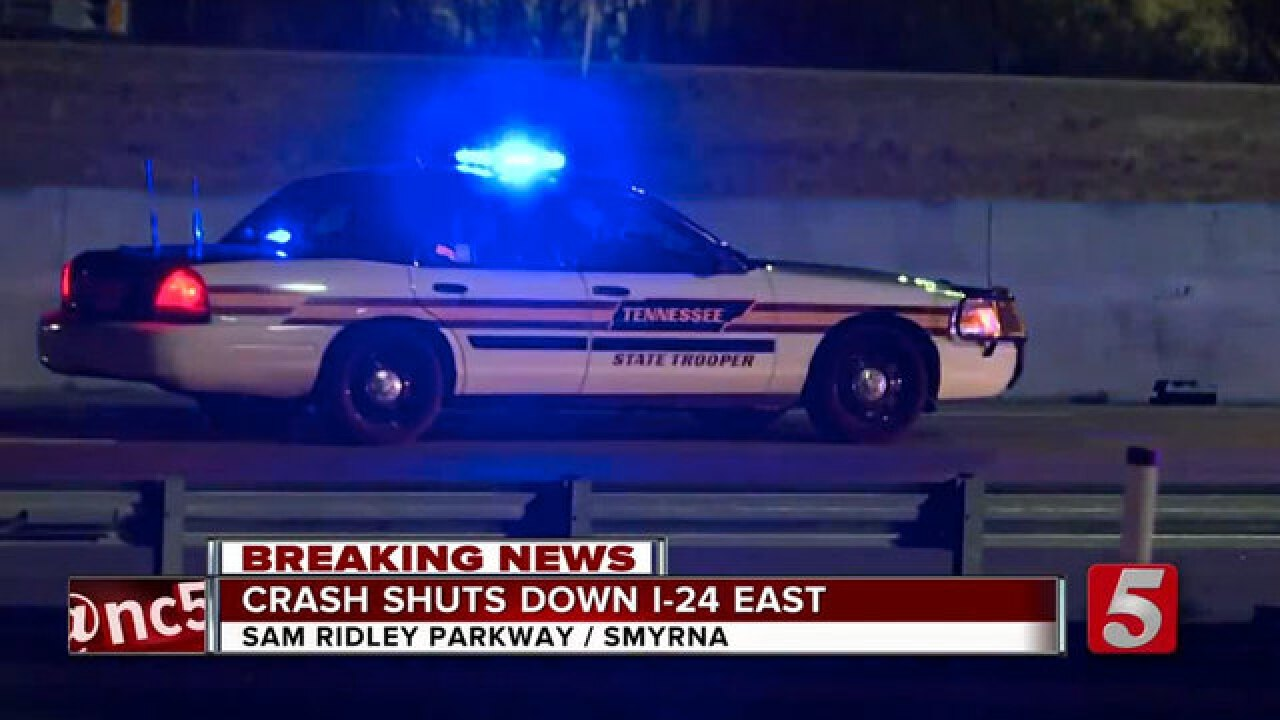 Indiana Man Killed In I-24 Crash In Smyrna