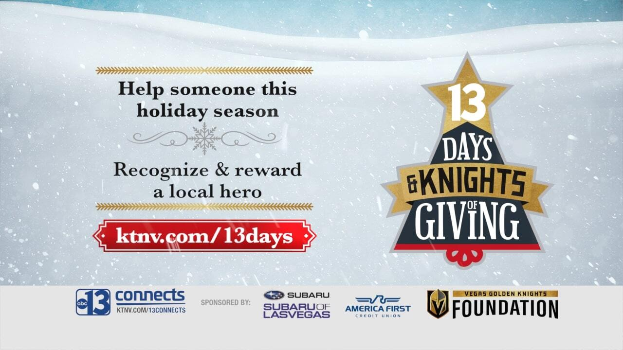 2019 13 Days and Knights of Giving promotional boa