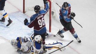 Kadri scores buzzer-beating goal as Avalanche beat Blues