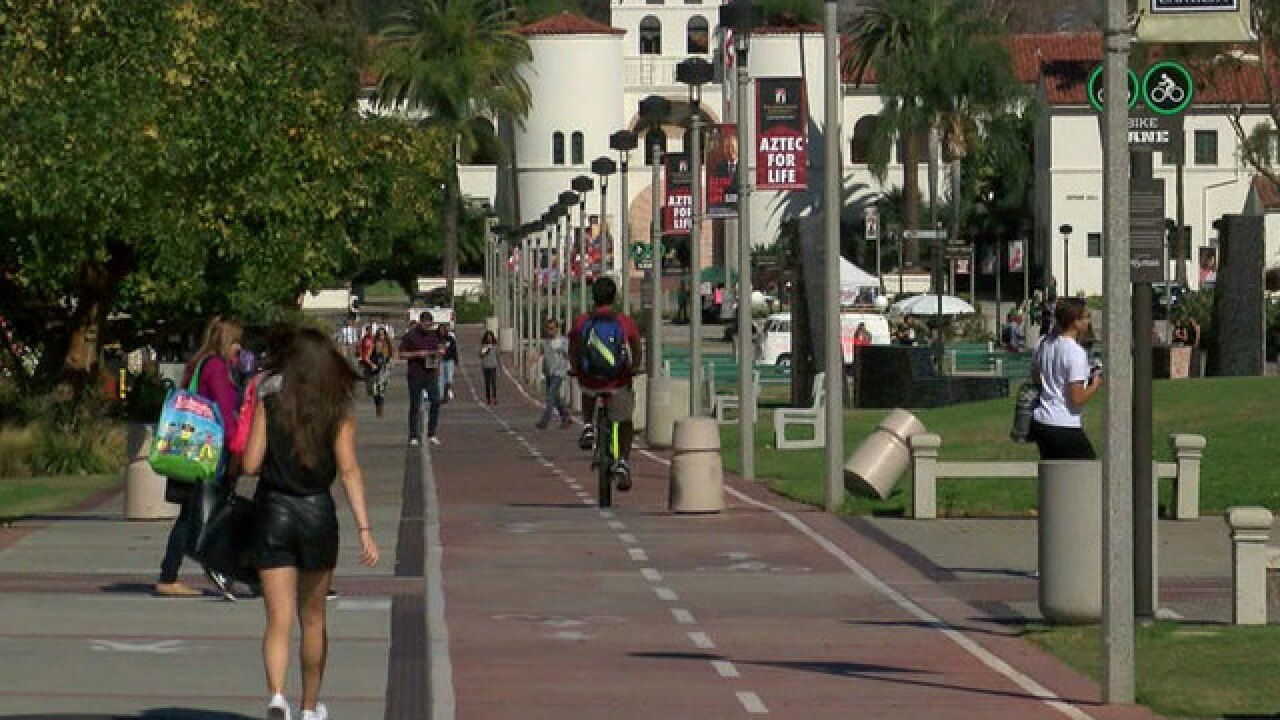 Phones, keys stolen from SDSU students near campus
