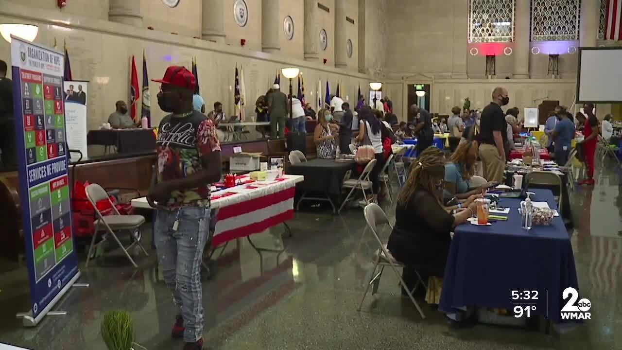One-stop reentry fair assists returning citizens