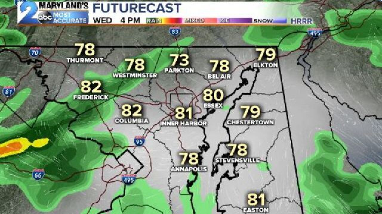 MORE STORMS: Severe Threat Stays South