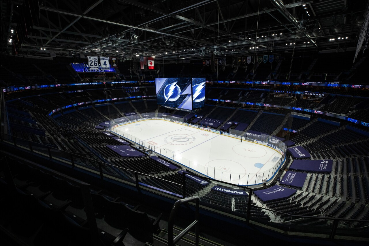 How you and 5 guests can spend the night at AMALIE Arena with the Stanley Cup