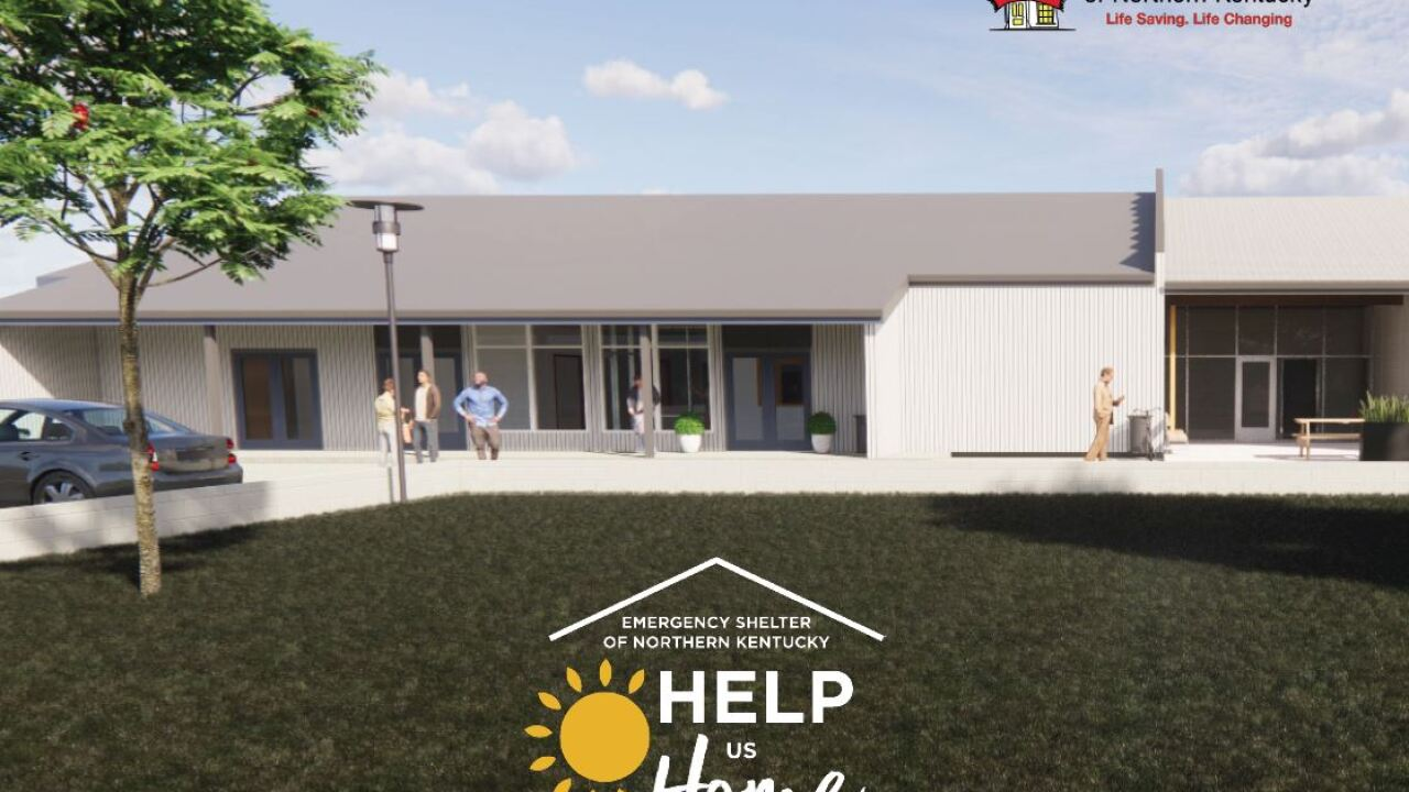 This rendering shows Emergency Shelter of Northern Kentucky's new facility in Covington.