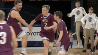 Butte Central's Jared Simkins does the unexpected in championship run