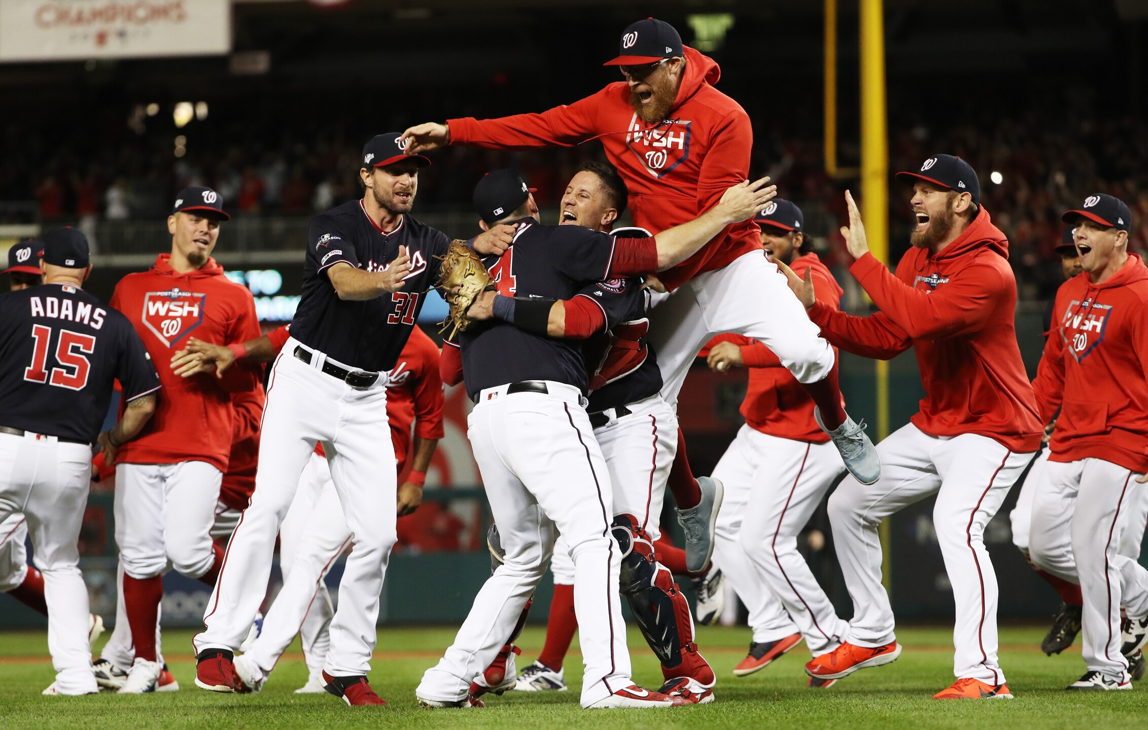 Photos: Photos: Nationals clinch NLCS, World Series to be in D.C. for first time since 1933!