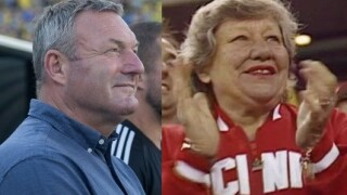 Ron Jans and Marge Schott, two controversial Cincinnati Sports figures