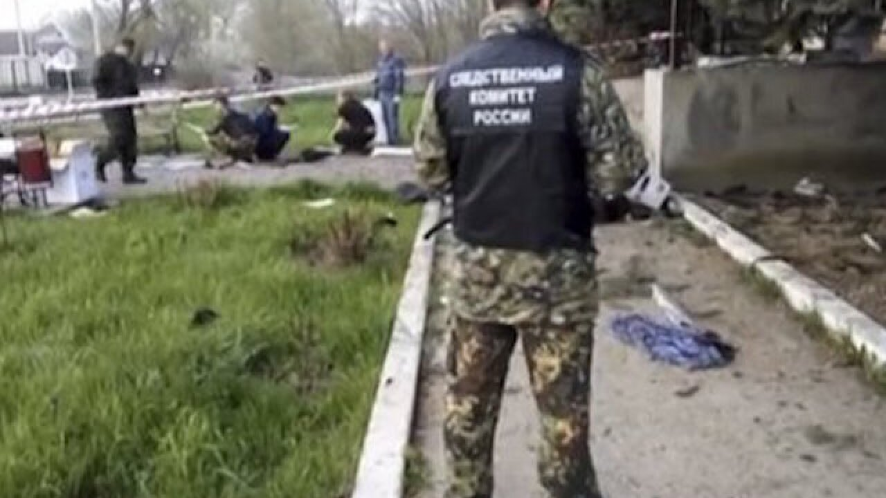 Russian police station attacked by militants