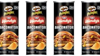 Pringles And Wendy's Teamed Up To Create New 'Baconator' Chips
