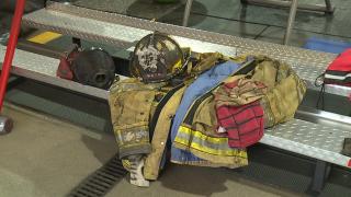 Firefighter nearly killed gear
