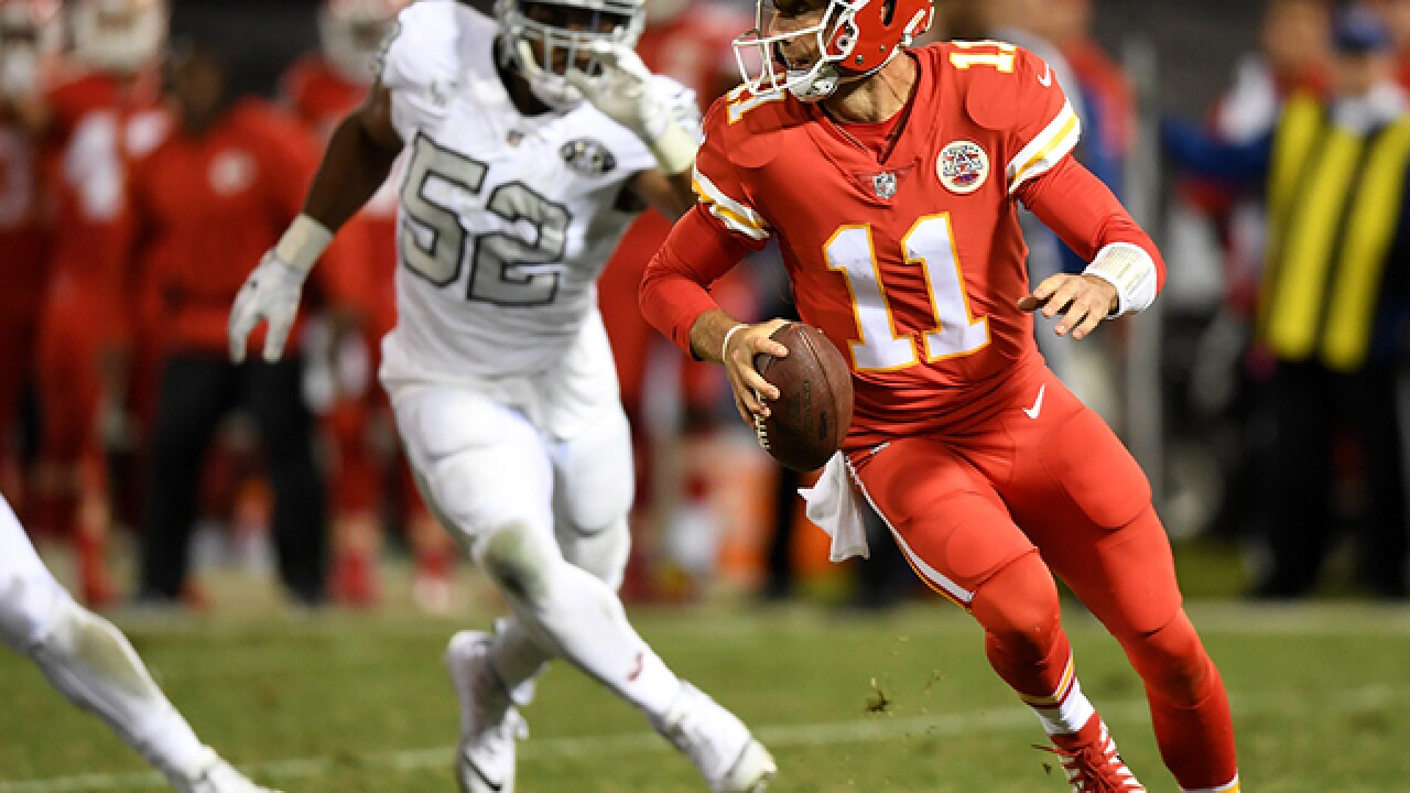 Chiefs' Alex Smith pens goodbye to Kansas City fans