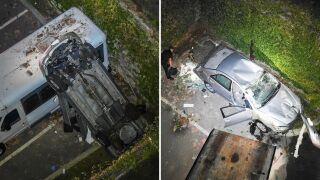 Pelham crash split