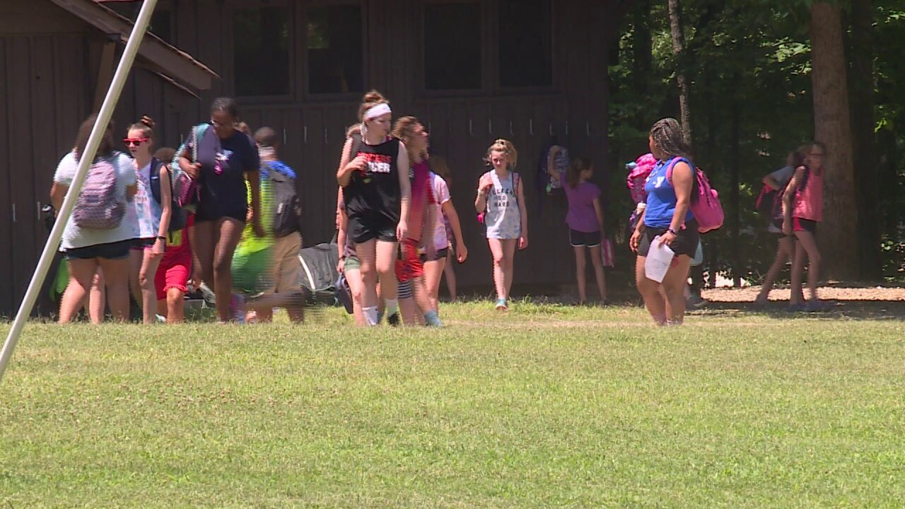 Camp leaders modify schedule to keep kids safe during wicked heat