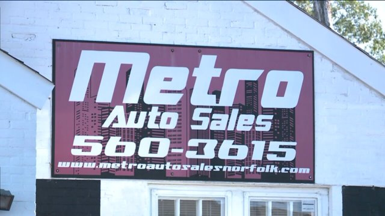 Norfolk car dealer charged with selling illegaltags