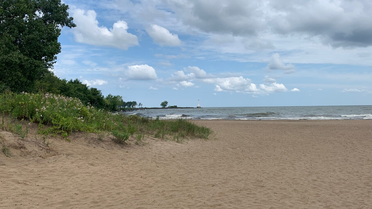 Nickel Plate Beach in Huron
