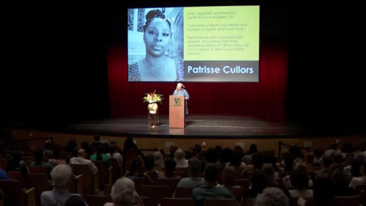 'Black Lives Matter' Co-Founder Speaks At Vanderbilt