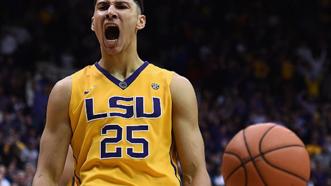 Ben Simmons drafted No. 1 overall in NBA Draft by Philadelphia 76ers