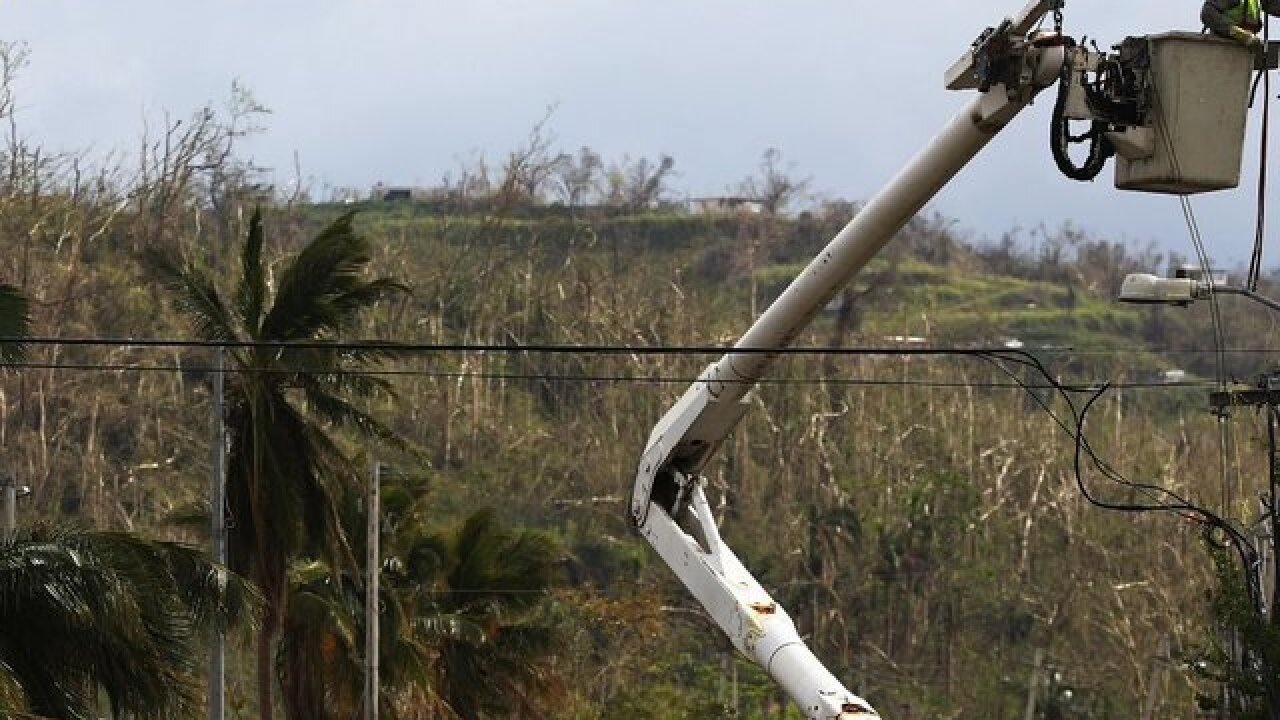 Puerto Rico's power outage is now the second-largest blackout on record