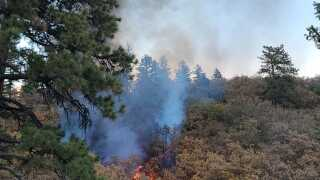 Wildfire reported near Barr Trail, EPCSheriff looking for arson suspect