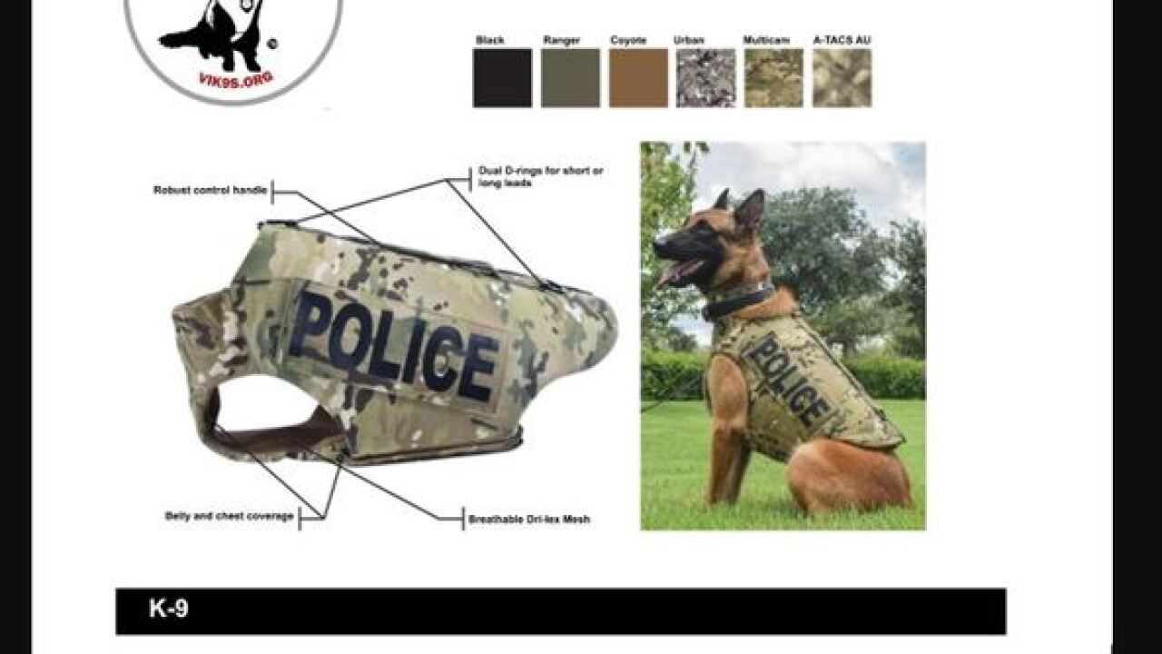 Groupon 10 year anniversary helps police dogs