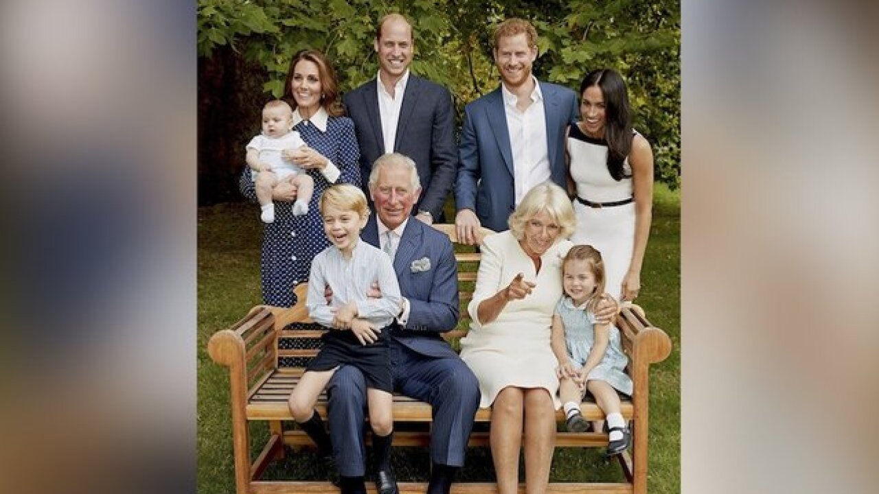 Prince Charles celebrates turning 70 by sharing candid family photograph