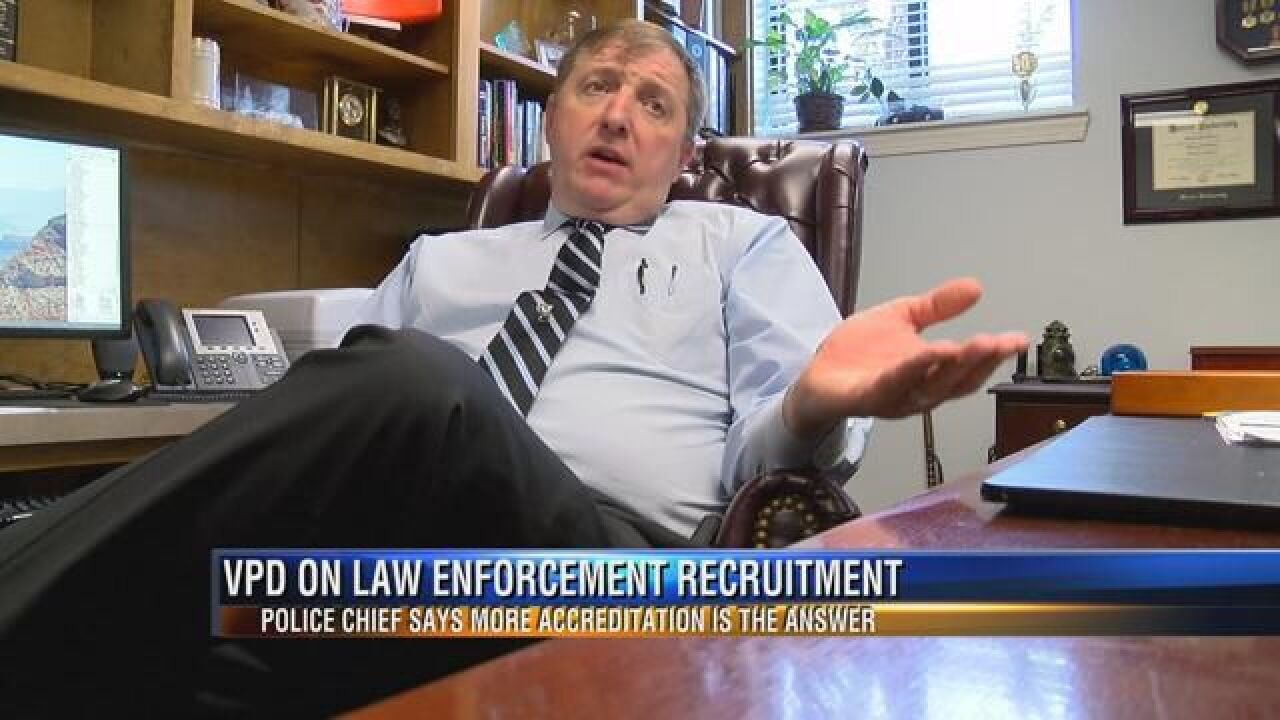 As Police Recruitment Declines, Valdosta Police Chief Speaks Out