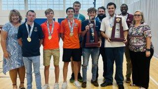 Plant City High Schools Special Olympics Basketball Team