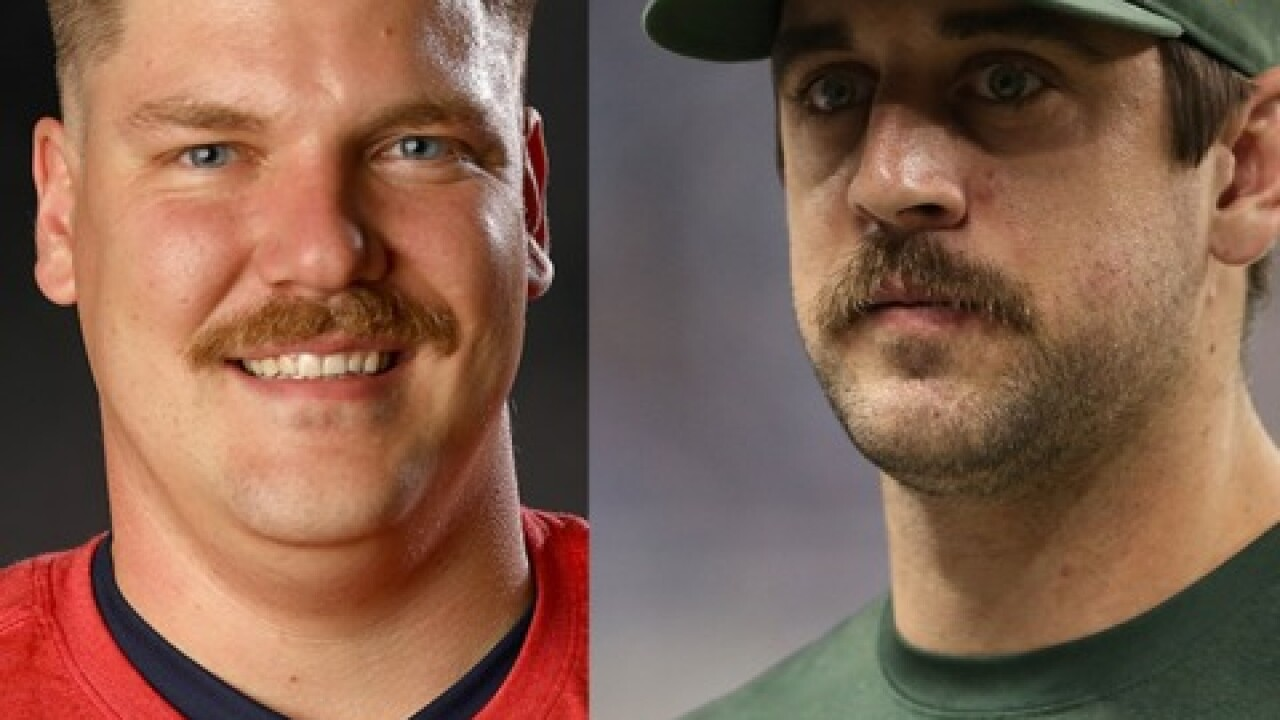 Matt Hamilton, Aaron Rodgers double as Mario, Luigi