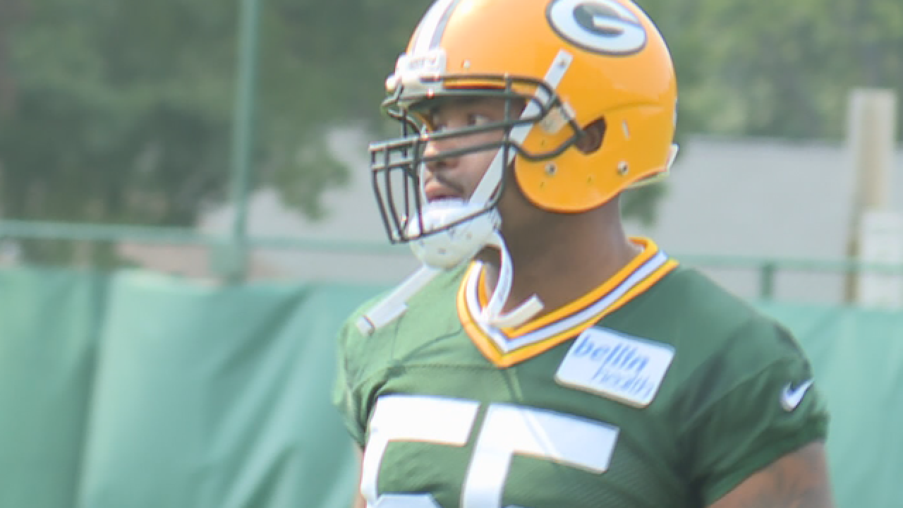 Packers LB Ahmad Brooks out with concussion