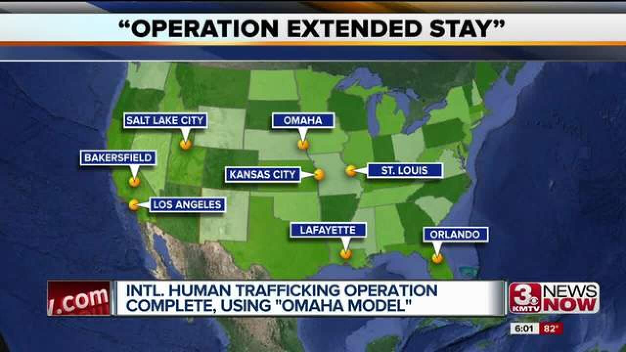 Human trafficking investigation uses Omaha Model