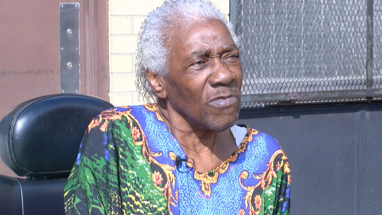 Cleveland woman says she's had to sleep in a car for nights because of elevator breakdowns.
