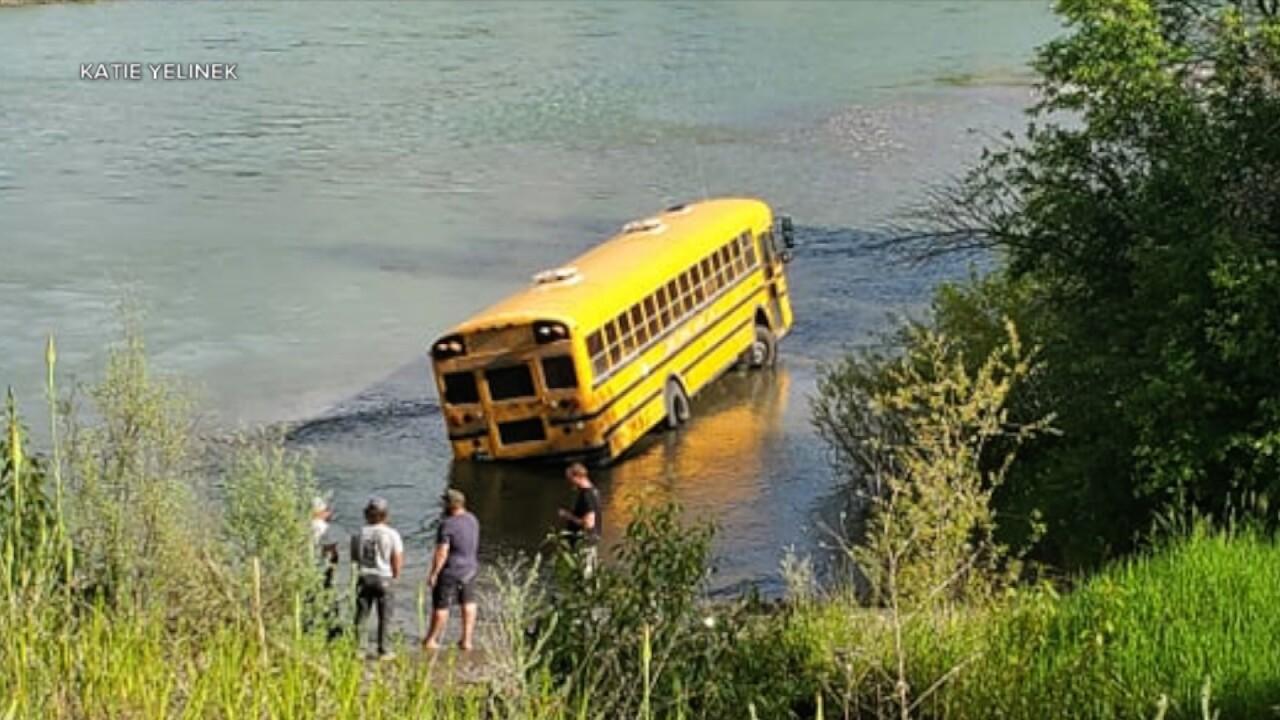 Blankenship Bus Stuck