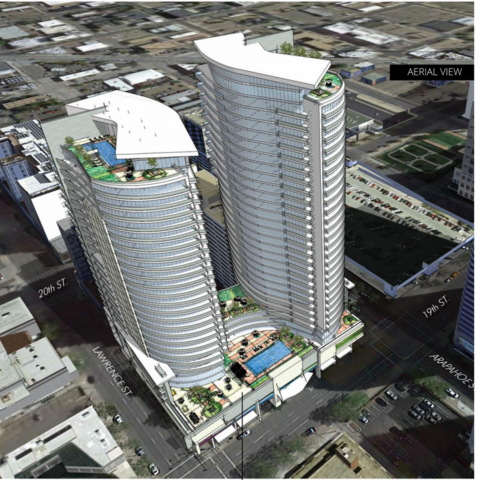 GALLERY: Developer proposes two 40-story condo towers in downtown Denver