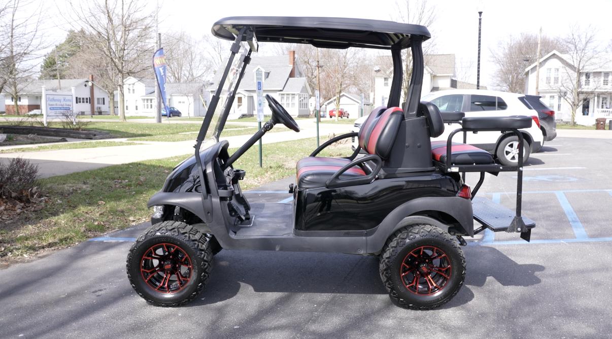 Kory Witt's golf cart