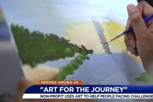 'Art for the Journey' helps veterans overcome challenges