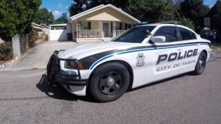 Tampa police car