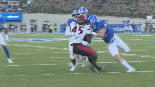 No. 22 San Diego St. builds lead, holds off Air Force 20-14