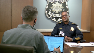 Acting Chief Jeffrey Norman discusses changes since George Floyd