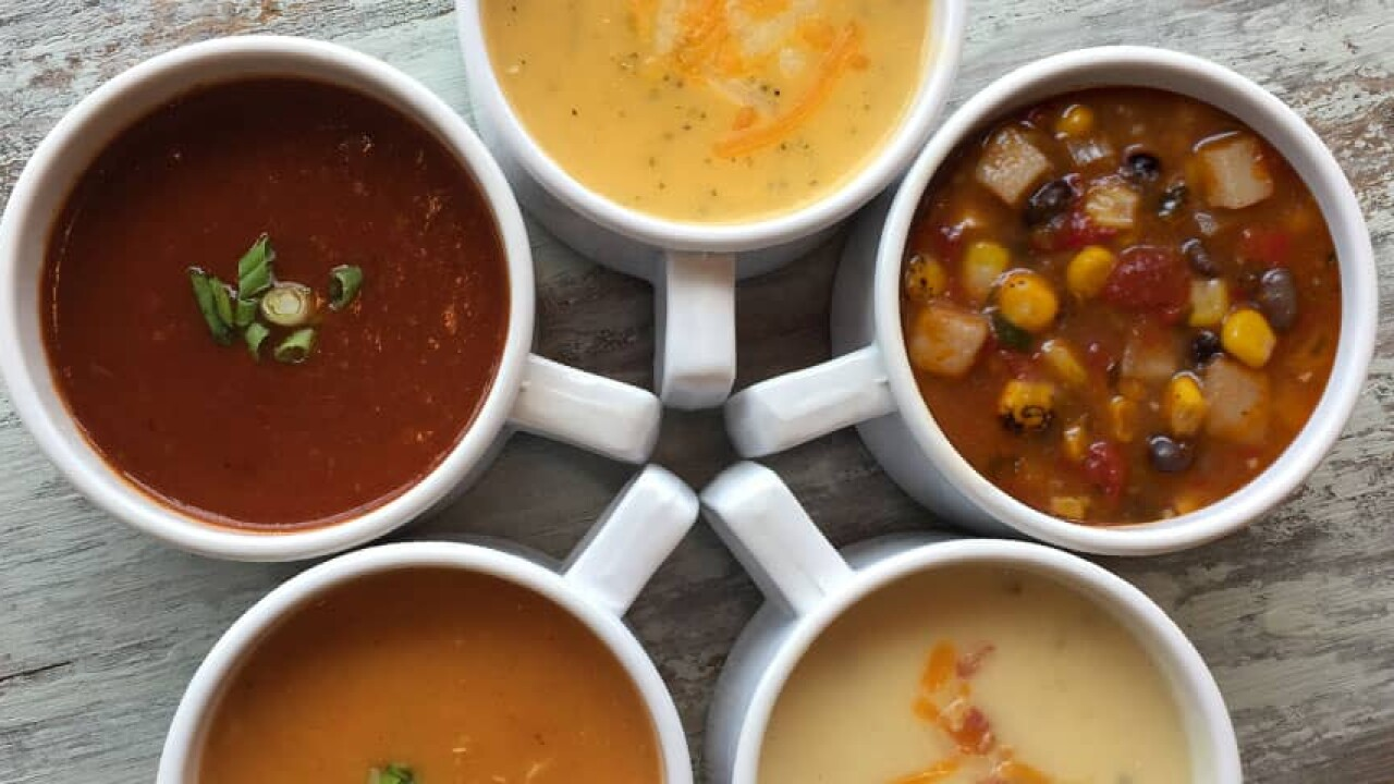 8ab0a9a22719 McAlisters Soup.jpg. INDIANAPOLIS — Hoosiers can get free ...