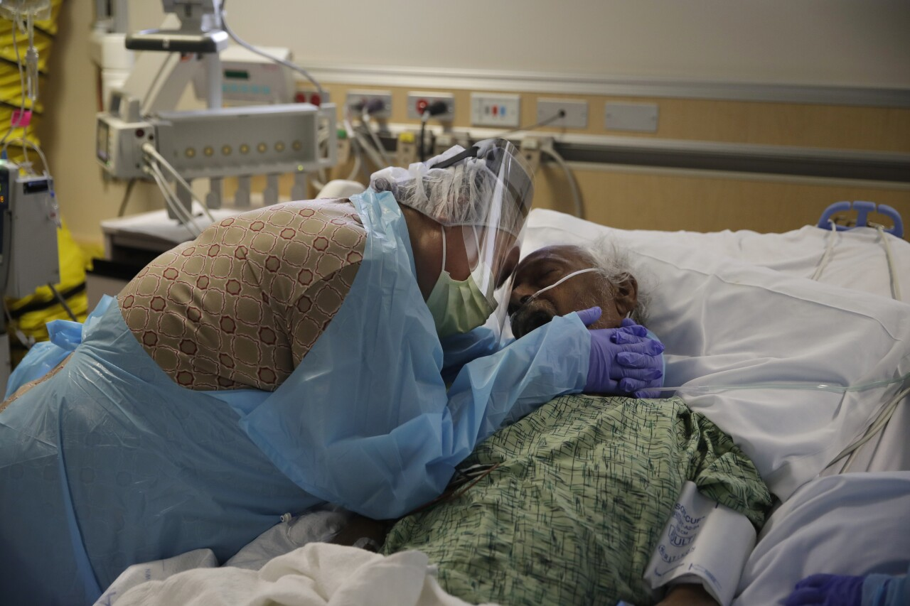 Virus Outbreak California 1 Million Cases