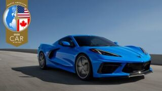 Corvette named Car of the Year 2020